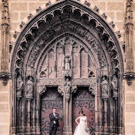 by Ľuboš Vrtík - Wedding Bride & Groom ( svadobna fotografia )