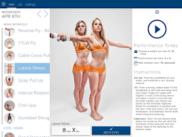 Screenshot of BodBot Personal Fit Trainer