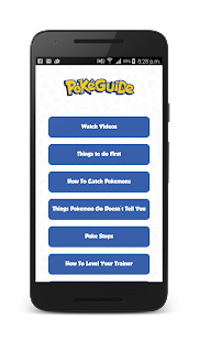 PokeGuide App - screenshot