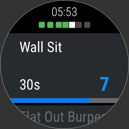 Runtastic Results Home Workouts & Personal Trainer screenshot 15