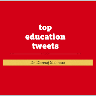 Top Education Tweets - screenshot