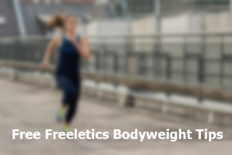 Free Freeletics Bodyweight Tip Fitness app screenshot for Android