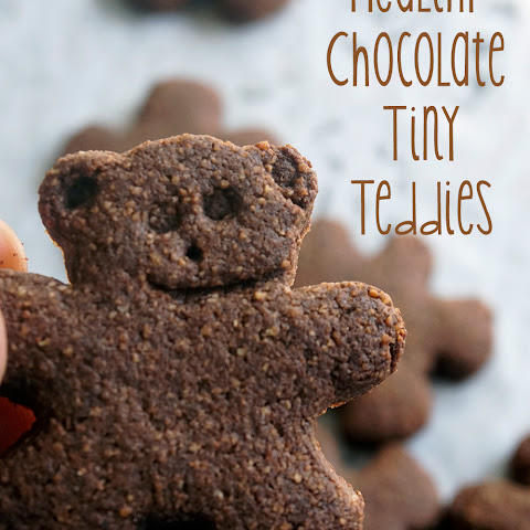 Healthy Chocolate Tiny Teddies