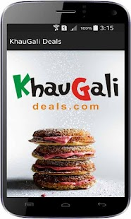 KhauGaliDeals-Restaurant Deals - screenshot