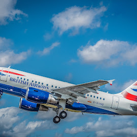BA takes to the Air by Anthony P Morris - Transportation Airplanes ( ba, british, anthony morris, aircraft, britishairways, airways, airtattoo, airoplane, airline, airshow )