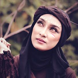 Arabian Style by Junulius Thonak - People Portraits of Women ( women, people, portrait )