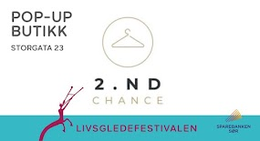 2nd chance – pop up butikk