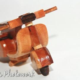 Vespa kayu by Kristianto . - Transportation Motorcycles ( miniatur, still life, toys )