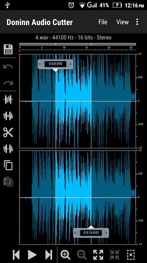 Doninn Audio Cutter Screenshot 0