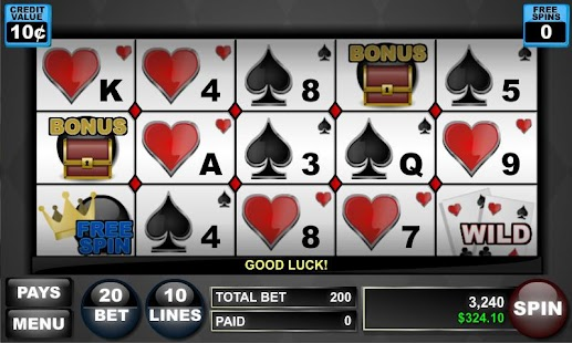 Card Shark Poker Slots- screenshot thumbnail
