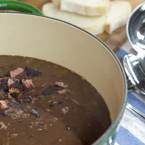 Ham & Black Bean Soup