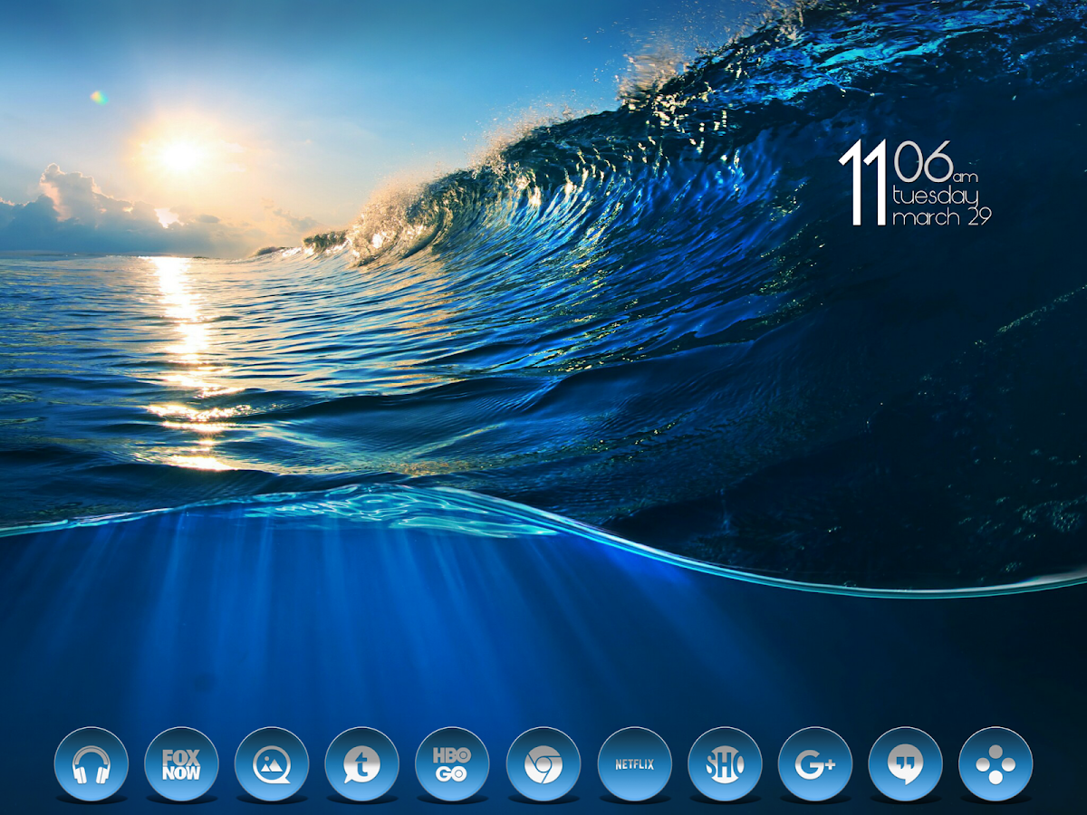 Daf Blue - Icon Pack Screenshot 10