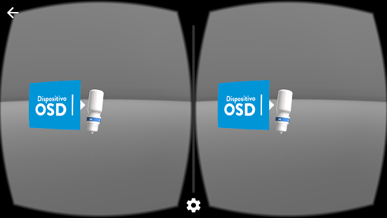OSD VR - screenshot