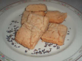 Lavender Shortbread Cookies By Carol Bobarrel