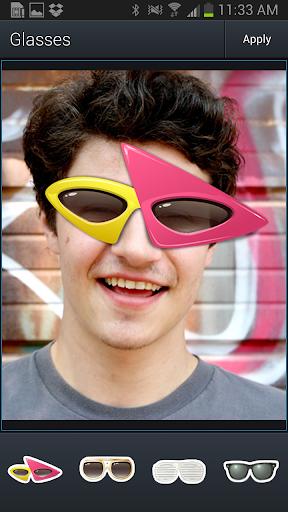 Aviary Stickers: Glasses screenshot 1