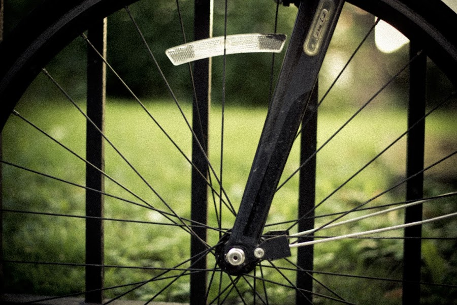 What actually counts in life.. by James Realmwalker Johansson - Artistic Objects Other Objects ( realmwalker, wheel, springs, bokeh, ekrar, bicycle )