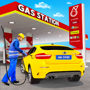 Gas Station Car Driving Simulator Car Parking Game for pc