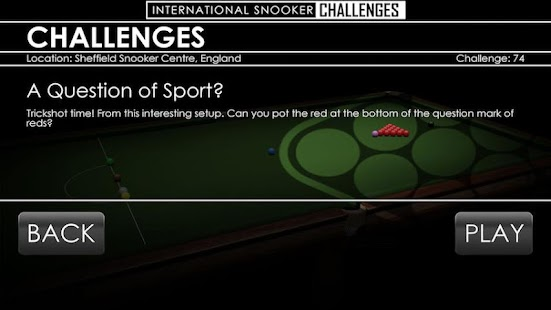 Snooker Challenges - screenshot
