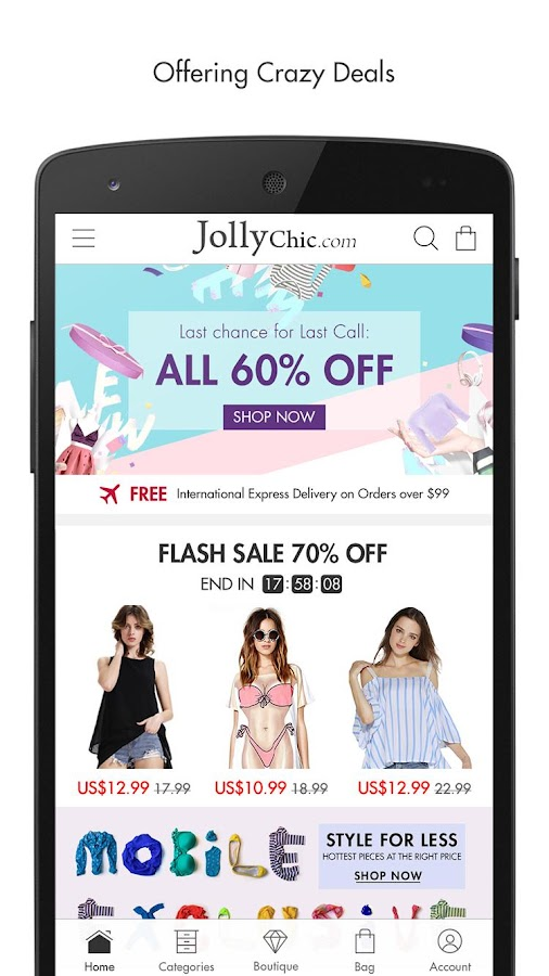 JollyChic Fashion Screenshot 1