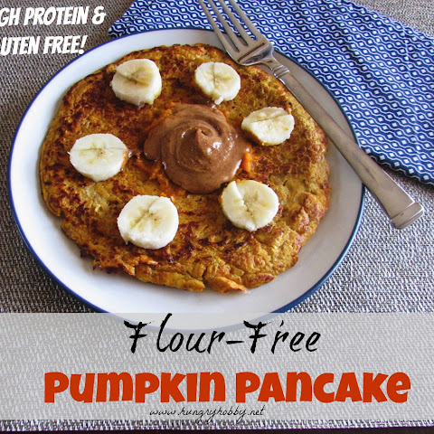 Single Serving Paleo Pumpkin Pancake