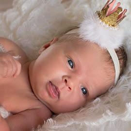 by K C - Babies & Children Babies ( sweet, girl, crown, happy, baby )