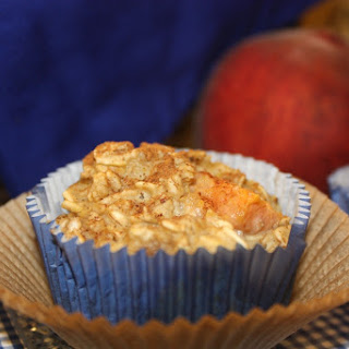Peach and Banana Oatmeal Cups