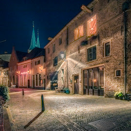 Old city centre Deventer by Henk Smit - City,  Street & Park  Historic Districts