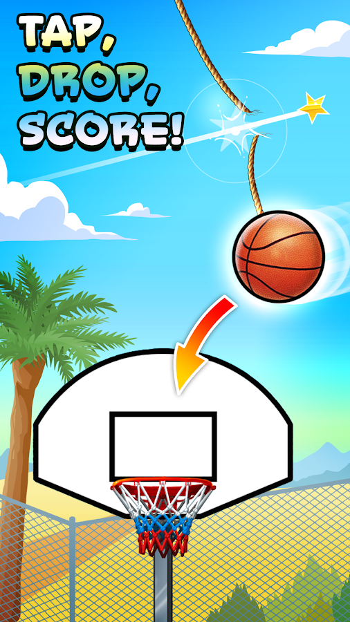Basket Fall Screenshot 1