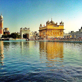 The Golden Temple by Ajay Sharma - Buildings & Architecture Places of Worship