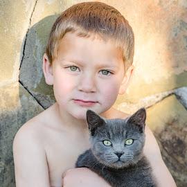 Green eyes by Anél Brink - Babies & Children Child Portraits