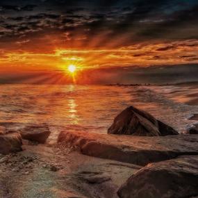 by Doreen Rutherford - Landscapes Sunsets & Sunrises ( #GARYFONGDRAMATICLIGHT, #WTFBOBDAVIS )