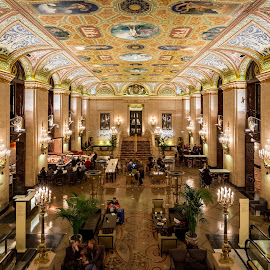 Palmer House by John Williams - Buildings & Architecture Office Buildings & Hotels ( ceil, architectural detail, interior architecture, chicago, palmer house )