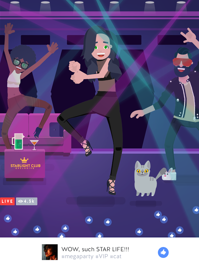 Star Away! - Idle Live Stream Story (Unreleased) Screenshot 5