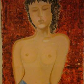 Acrylic on the Carton. 115x60. by Jana Prášková - Painting All Painting