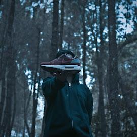Sneakers up ur life by AB Soekartiko - People Portraits of Men ( #landscape #people #concept # )