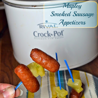 Mapley Smoked Sausage Appetizers