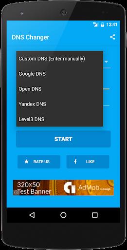 DNS Changer (no root 3G/WiFi) screenshot 2