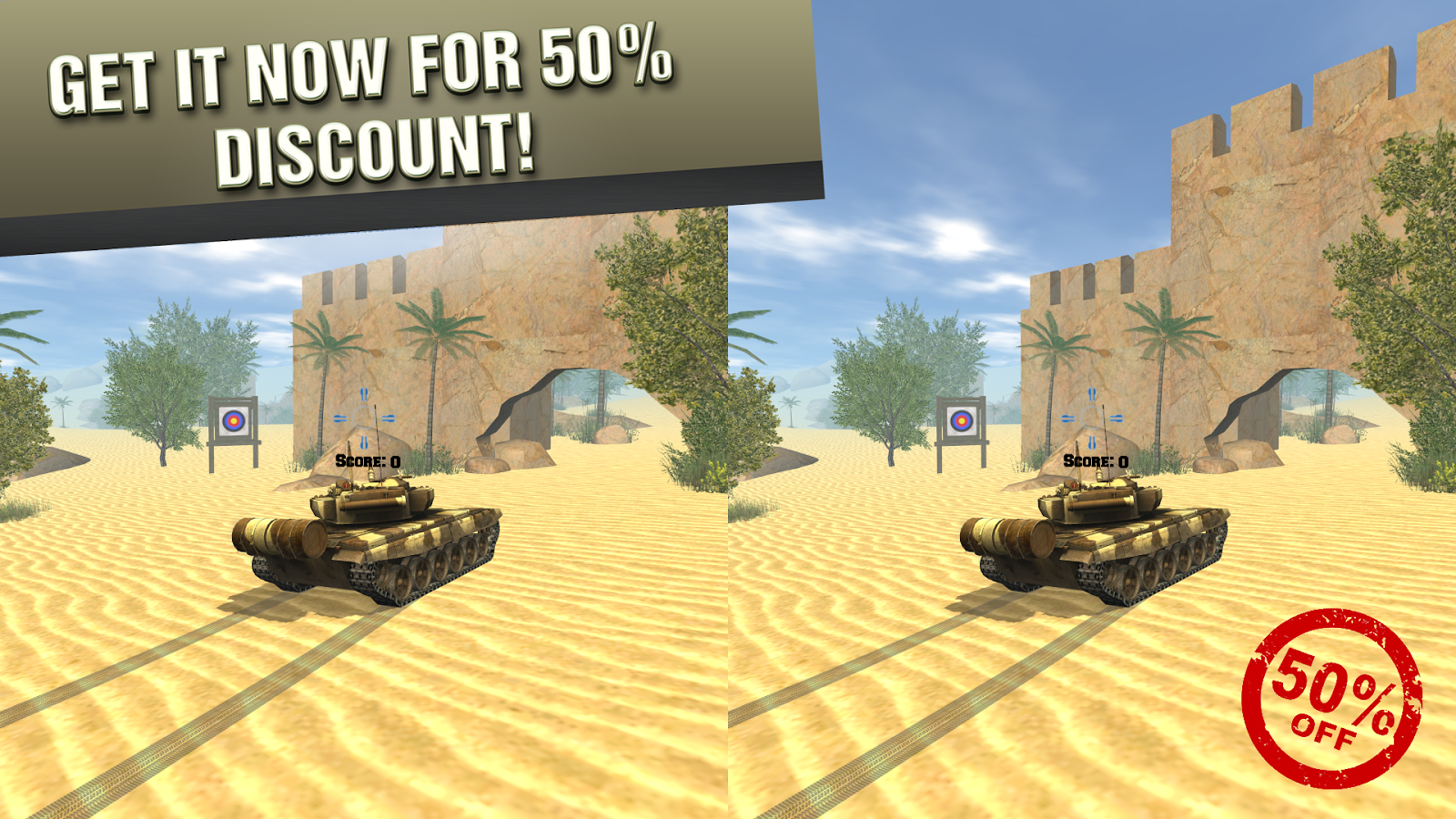 VR Tank Screenshot 1