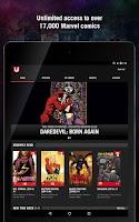 Screenshot of Marvel Unlimited
