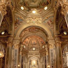 Santuario di Nostra Signora della Guardia by Macinca Bogdan - Buildings & Architecture Places of Worship