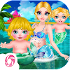 Mermaid Happily Play-Baby