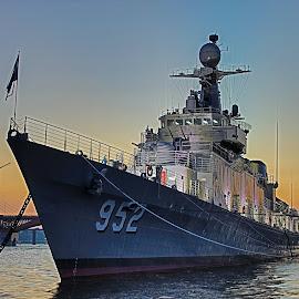 Seoul Battleship Park by Brent Hendricks - Transportation Boats ( seoul, battleship park, south korea, han river )