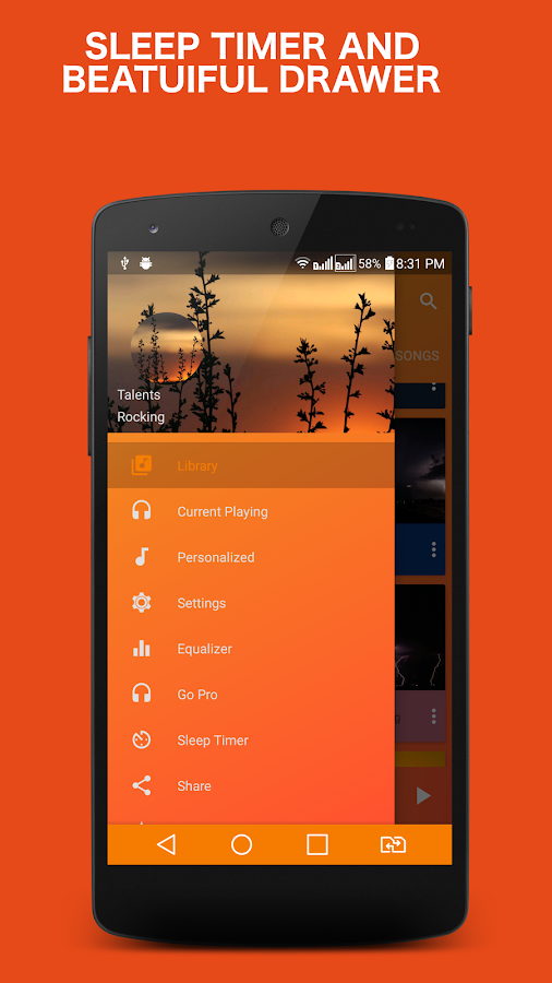 Ghost Music Player Pro Screenshot 3