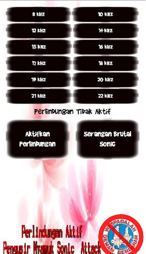 Pengusir Nyamuk Sonic Attack screenshot 1