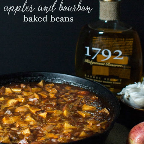 Apples and Bourbon Baked Beans