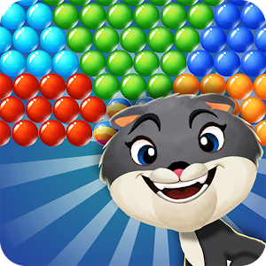 Bubble Shooter: Kitty Pop