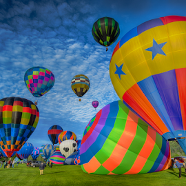 Balloon launch by Walt Mlynko - Transportation Other