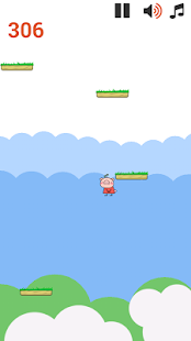 Pig Peppy Jump - screenshot