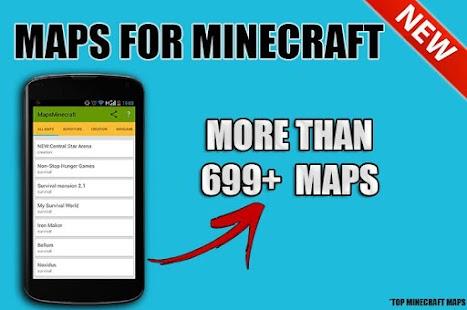 Maps for Minecraft Pe APK for Bluestacks