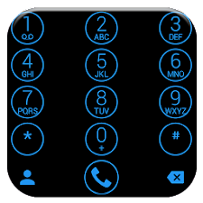 Theme for ExDialer Circle Blue